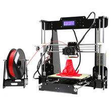 2016 New Upgrade Auto Level 3d printer DIY Kit Reprap Prusa i3 3d-printer P802 Gift 1Roll Filament 8GB SD Card LCD Free shipping