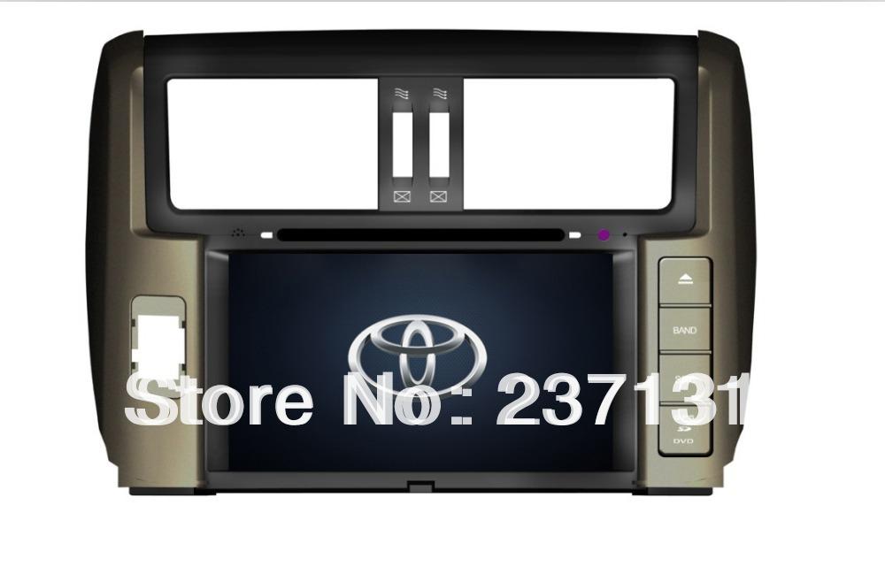 Toyota Prado car autoradio gps navigation dvd player multimedia kit with 3G WIFI FM AM(China (Mainland))