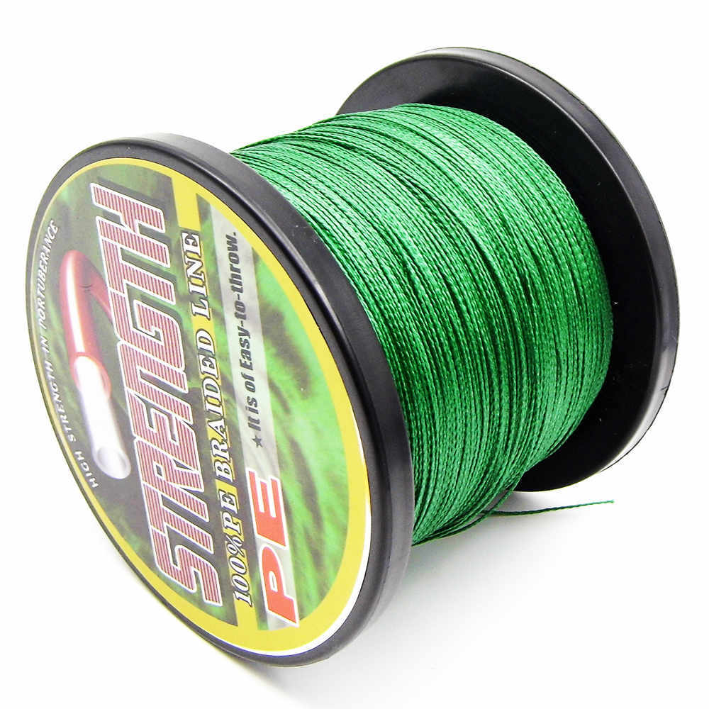 500M 6 8 10 15 20 30 40 50 60 70 80 90 100LB Super Strong Japanese colorful Multifilament PE Material Braided Fishing Line(China (Mainland))