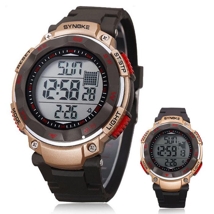New Waterproof Men Boy Digital LED Quartz Alarm Date Sports Wrist Watch Freeshipping&Wholesale(China (Mainland))