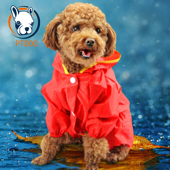 dog raincoat raincoat for dogs dog rain coat products for animals productos para perros for dogs accesorios para mascotas(China (Mainland))