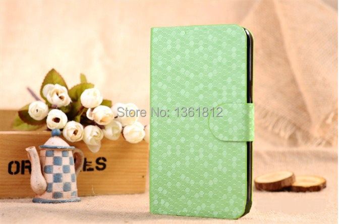 Top Quality diamond Leather Case Luxury Diamond Button Flip Wallet Card Cover For Huawei p6 Free Shipping(China (Mainland))