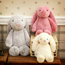 Original Jelly Bunny Rabbit with Tags and CE 30CM Length Cute Lovely Children Toys Plush Toy for Kids Gifts AA10193(China (Mainland))