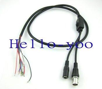 free shipping 5pcs/lot Wholesale black OSD menu control cable line 88cm