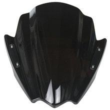 Buy Motorcycle Street Bikes Handlebars Windshield WindScreen 2009-2015 Yamaha XJ6 XJ6N 09 10 11 12 13 14 15 Black for $53.95 in AliExpress store