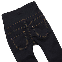 Maternity Elastic Jeans Pregnant Women Denim Skinny Pants Motherhood Trousers(China (Mainland))