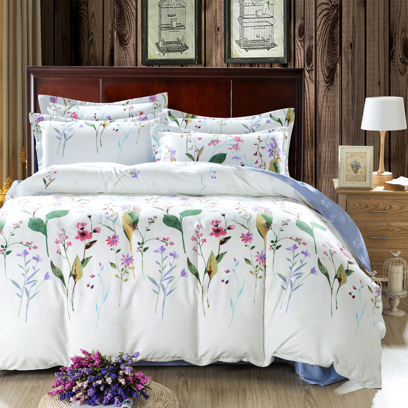 ... full size comforter sets cheap bed linen luxury bedding-in Bedding