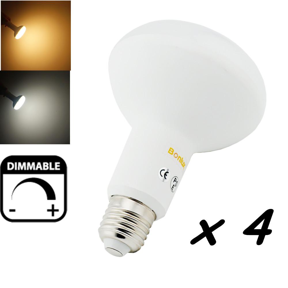 Dimmable LED BR30 R95 Bulb Light Medium Base E26 E27 LED Light Mushroom Recessed Lamp Replace 100W Halogen Lighting(China (Mainland))