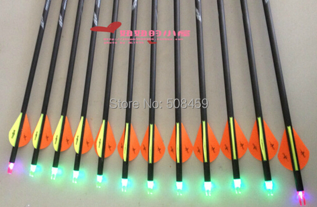 Buy archery hunting lighted led arrow nocks for compound bow arrow