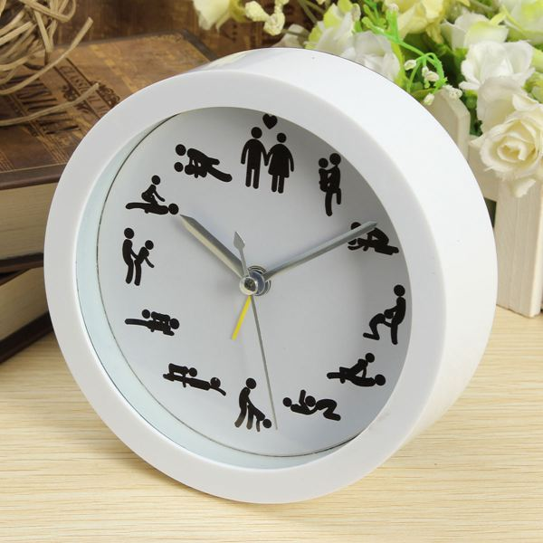 24 hours sex position wall clock