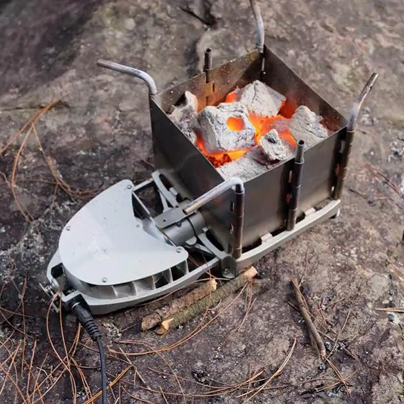 New Hot Sale Outdoor Camping Picnic Wood burning Stove DAS-116 Foldable Portable Firewood Furnace Charcoal BBQ Barbecue Grill(China (Mainland))