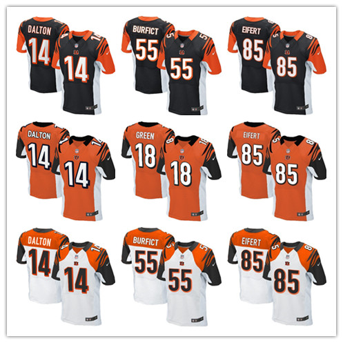 NFL Jersey's Women's Cincinnati Bengals Andy Dalton Nike White Game Jersey