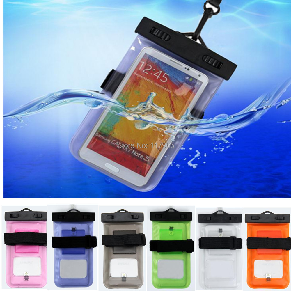 """2015 durable Portable swimming Waterproof Bag underwater Pouch Dry Case Cover For Iphone 4S 5S 6 S2/S3 phone smaller than 5.7""""(China (Mainland))"""