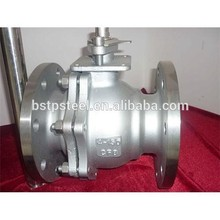 Q47H-40 DN150 Cast Steel Fixed hard sealing Ball Valve WCB 304 316 316L(China (Mainland))