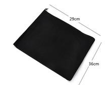 400pcs/lot Black White Mesh Drawstring Bags For Shoes Clothes Storage Bag Zakka Organizer Travel Package Novelty household(China (Mainland))
