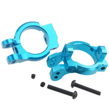 Buy 2Pcs AXIAL SCX10 AX80106 Yeti Rock Racer 90026 AX90025 RC Parts Alum. Steering Carrier Set Base C 1/10 Scale Models RC Car for $7.49 in AliExpress store