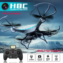500MP Brand JJRC H8C Drone with Camera 2.4G 6Axis Remote Control helicopter add 720P HD Camera RC Drone Helicopter