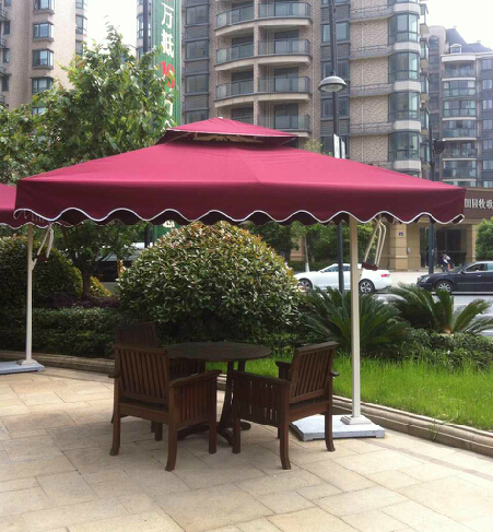 Outdoor patio furniture, umbrellas Rome 2 m 3 stall advertising beach umbrella security guard post<br><br>Aliexpress