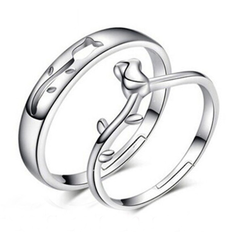fashion jewelry 925 sterling silver simple circle real