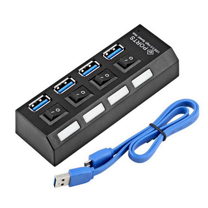 4 Ports Super Speed USB HUB 3.0 5Gbps Micro USB 3.0 HUB ...