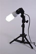 Photographic Equipment E27 Single Head Photo Lighting Bulb Holder Flash Umbrella Bracket Photography Studio Light Fitting