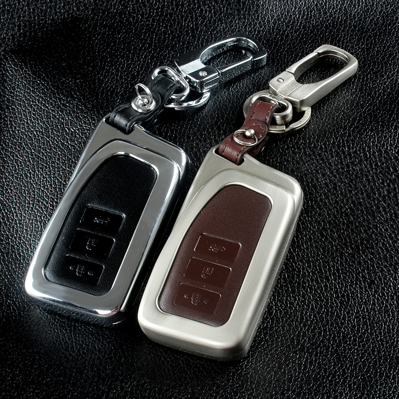 Zinc alloy+Leather Car Styling Key Cover Case For Lexus RX IS ES NX GS GX LX 300 330 350 200 250 270 470 460 570 400 450H CT200H(China (Mainland))