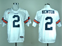 New Auburn Tigers 2 Cam Newton 34 Bo Jackson College Football Jersey Embroidery Logo(China (Mainland))