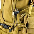 Multifunctional Anti lost elastic rope lanyard tactical military fans outdoor camping elastic spring gun rope lanyard