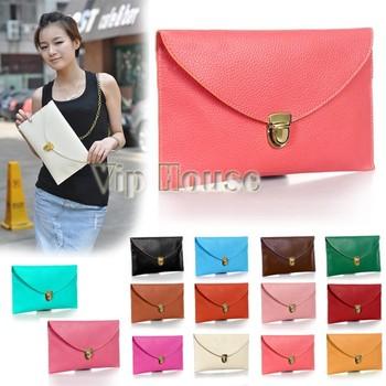 2014 новое поступление женщин конверт клатч сеть кошелек сумка повелительницы сумка плеча мешок руки 12 цвета № 13255