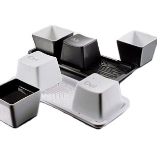 Keyboard glass piece set keyboard cup 300g day gift free air mail