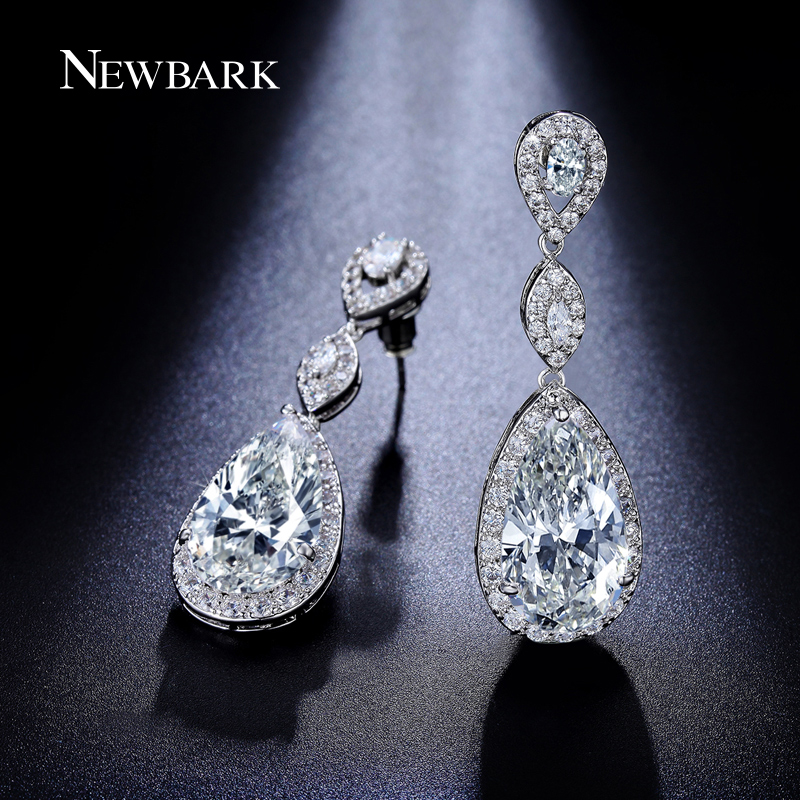 Elegant DropFullDiamondEarringsWomenLongRedBrideWeddingEarringsNo Elegant  DropFullDiamondEarringsWomenLongRedBrideWeddingEarringsNo. Amazing Long  Earrings ... 177f70cd2f04