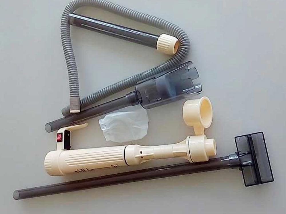USA Stock! Aquarium Fish Tank Battery Vacuum Syphon Auto Gravel Water Filter Cleaner Washer(China (Mainland))