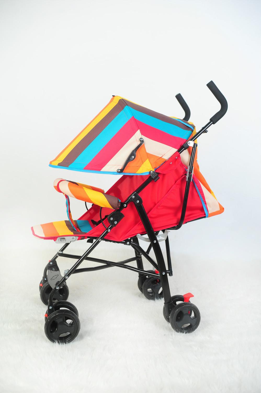 A baby stroller on behalf of umbrella car portable folding umbrella car can sit and lie<br><br>Aliexpress