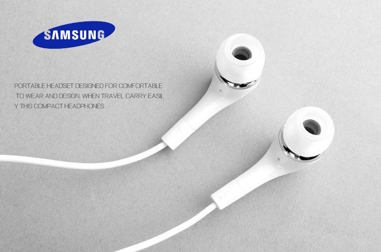2015 Hot 100 Original In Ear Earphone Handsfree With Mic For Samsung S3 S4 S5 Note