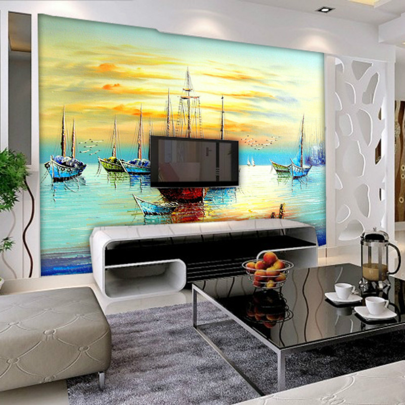 Wallpaper Murals For Living Room Images