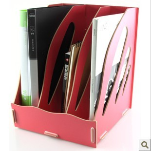On sale free shipping New arrival magazine box diy data rack wool file holder finishing frame 1004(China (Mainland))