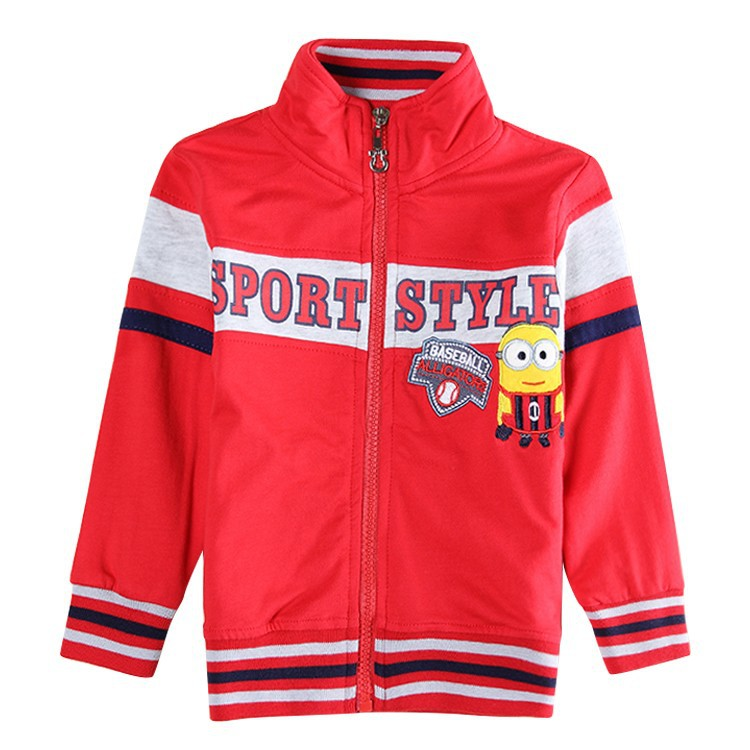Despicable Children Outerwear Boys Clothes Minions Kids Children's Clothing Accessories Baby Child Jackets A5413y
