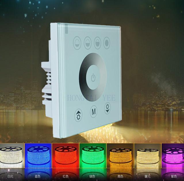 Led Touch Panel Controller Dimmer At 12v 24v Color For Diy Home Indoor   H