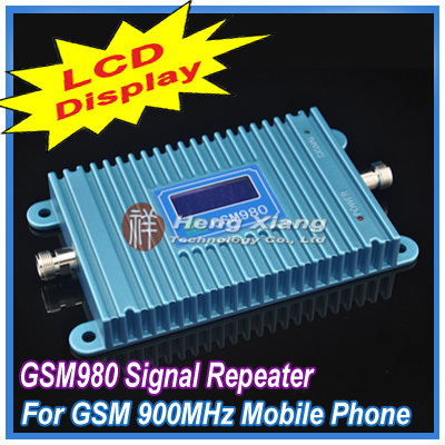 LCD Display !! GSM 900Mhz Mobile Phone GSM980 Signal Booster , Cell Repeater Amplifier + Power Adapter - Shenzhen Hengxiang Technology Co., Ltd store