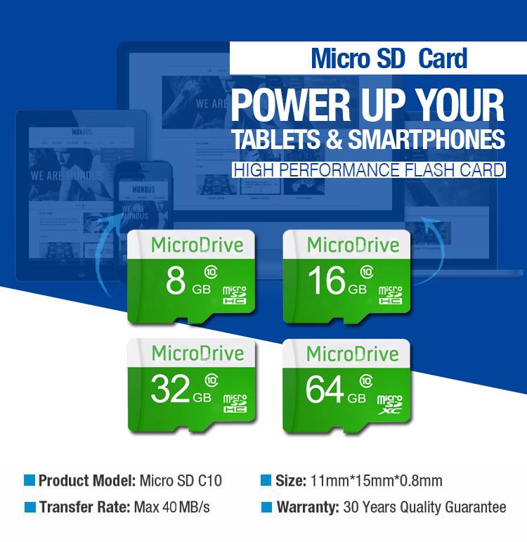 Green 100% Real capacity Micro SD Card Memory Card 8GB/16GB/32GB/64GB TF Trans Flash Card Freeshipping(China (Mainland))