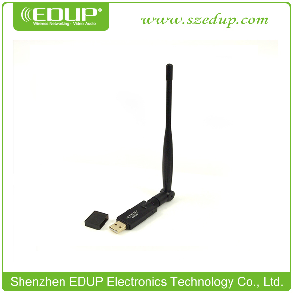 Free shipping 802.11N 300M HDTV Wifi USB Lan card networking adapter for LCD TV with Magnetic Base and External Antenna(China (Mainland))