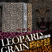 Top Quality Leopard PU Leather Case For Samsung Galaxy Tab A 8.0 T350 T355 Leopard Leather Tablet Stand Cover Case + Film + Pen(China (Mainland))
