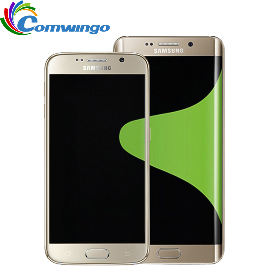 "Samsung Galaxy S6 Edge & S6 G920F G925F Mobile Phone Octa Core 3GB RAM 32GB ROM LTE 16MP 5.1"" Android 5.0 Smart Phone"