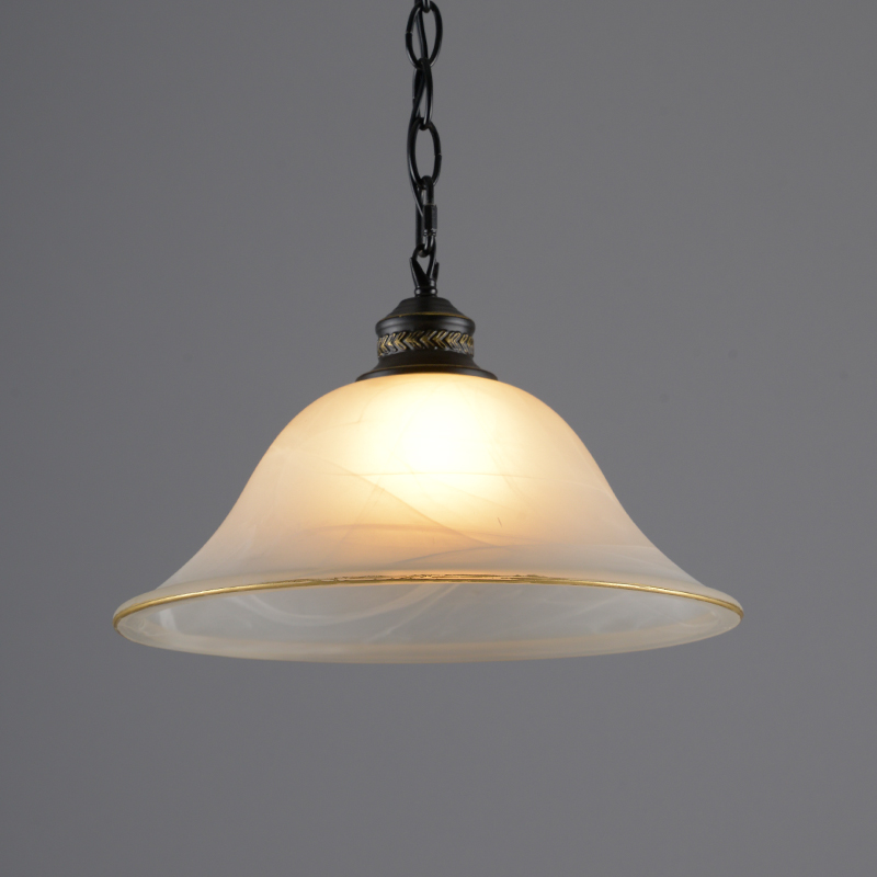 New modern brief single head cloud glass pendant light bar for Modern hanging pendant lights
