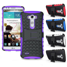 Buy Heavy Duty Rugged Armor Phone Case Hybrid Silicone TPU Bag Shockproof Cover Kickstand LG G3 D855 D850 D857 F400 F400k for $2.58 in AliExpress store