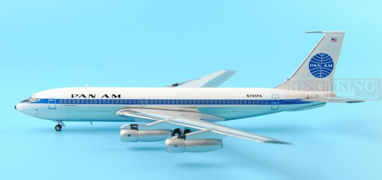 American Airlines B720B N785PA Pan 1:200 Aeroclassics commercial jetliners plane model hobby(China (Mainland))