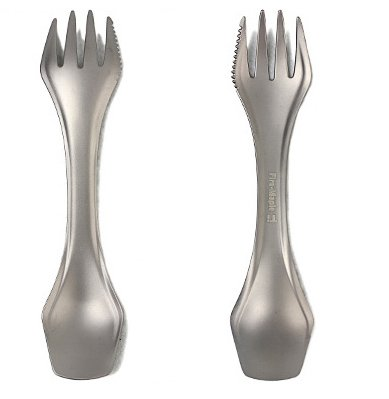Free Shipping Outdoor Titanium Fork Outdoor Fork 22g FMT-T23(China (Mainland))