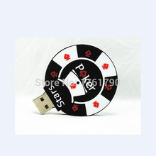 New Style Poker Stars USB Flash Drives External Memory Storage Pendrives 32GB 16GB 8GB 4GB pen drive Thumbdrive Usb Card Stick