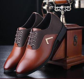 Best selling men casual oxford shoes man wedding luxury shoes man's brand formal shoes male quality office shoes free shipping