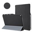 For iPad Pro 12 9 Case Premium PU Slim Fit Flip Folio with Pencil Holder Auto